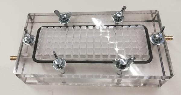 Bigger testing module for DIPA membrane evaluation