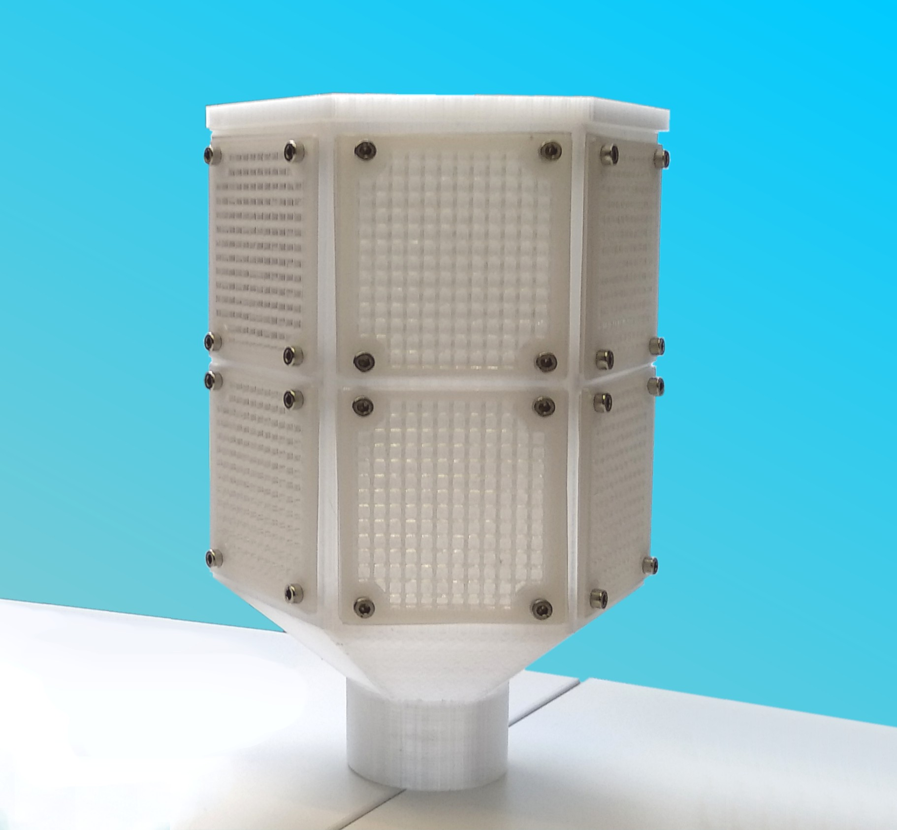 CAPTACO2 3D printed module
